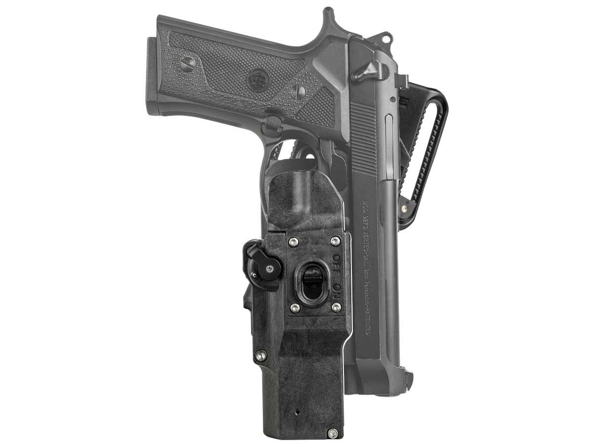 Beretta in a weapons holster