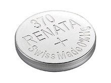Renata 370 MP 40mAh 1.55V Silver Oxide Coin Cell Battery - 1 Piece Tear Strip, Sold Individually