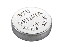 Renata 376 MP 27mAh 1.55V Silver Oxide Coin Cell Battery - 1 Piece Tear Strip, Sold Individually