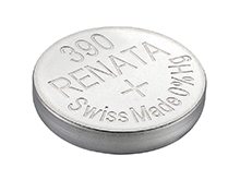 Renata 390 MP 80mAh 1.55V Silver Oxide Coin Cell Battery - 1 Piece Tear Strip, Sold Individually