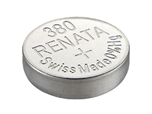 Renata 380 MP 82mAh 1.55V Silver Oxide Coin Cell Battery - 1 Piece Tear Strip, Sold Individually