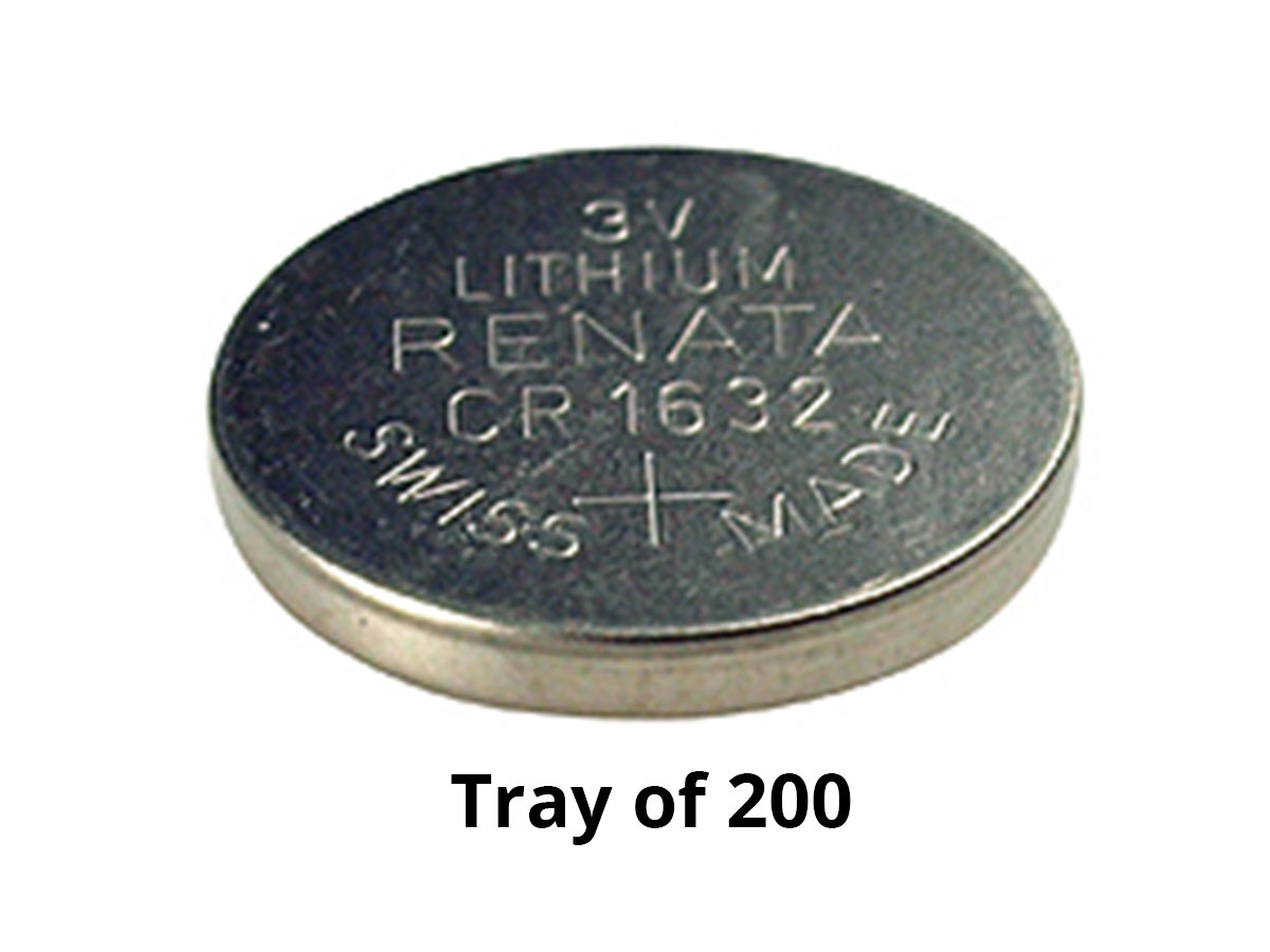 renata cr1632 ib tray bulk tray of 200