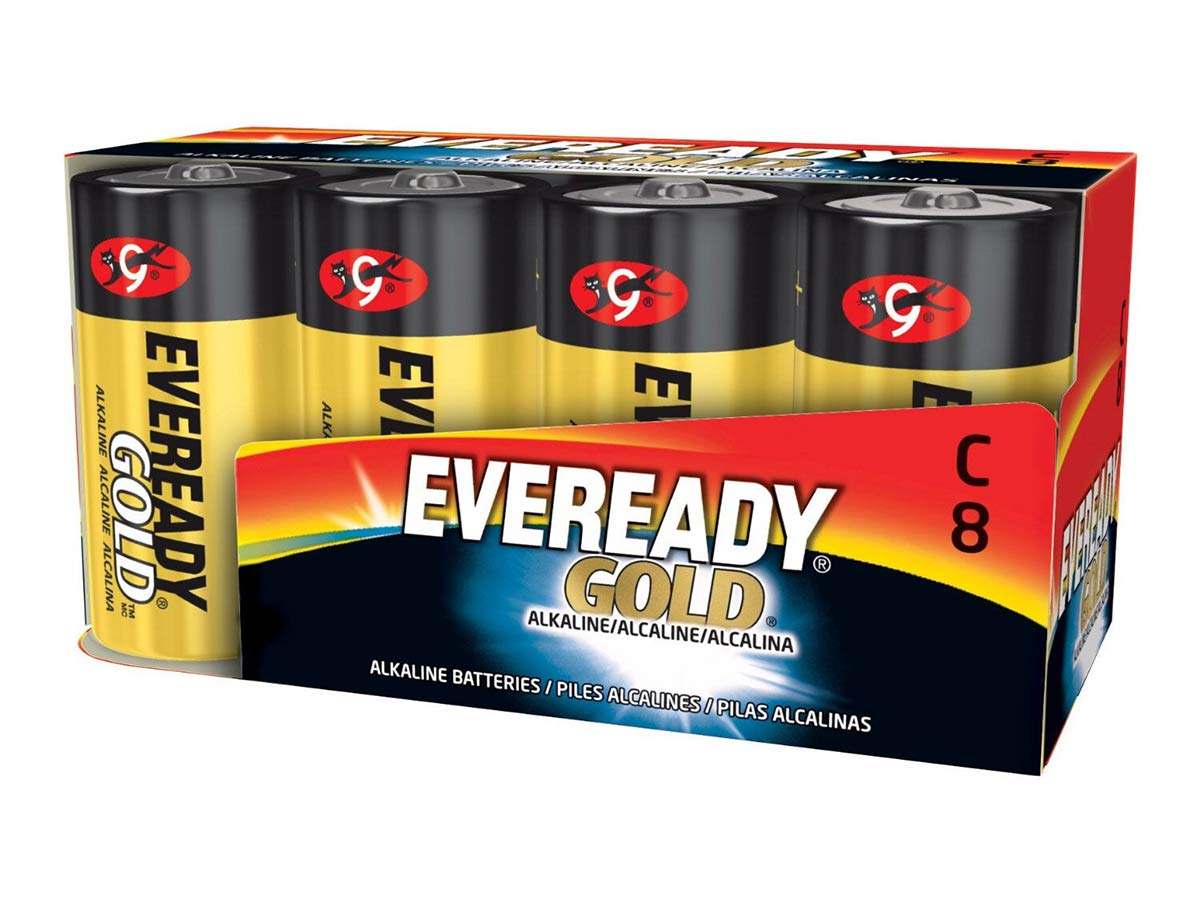 Energizer Eveready A93 batteries in 8 piece family pack