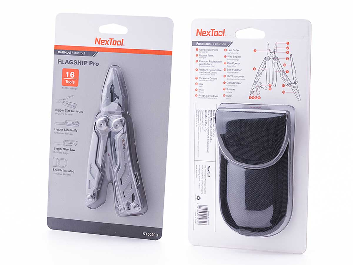 Packaging for Nextool Flagship Pro