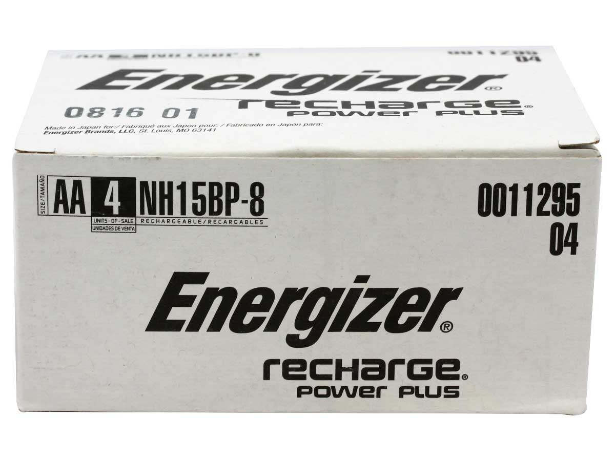 Box for larger orders of Energizer Recharge AA 8-packs