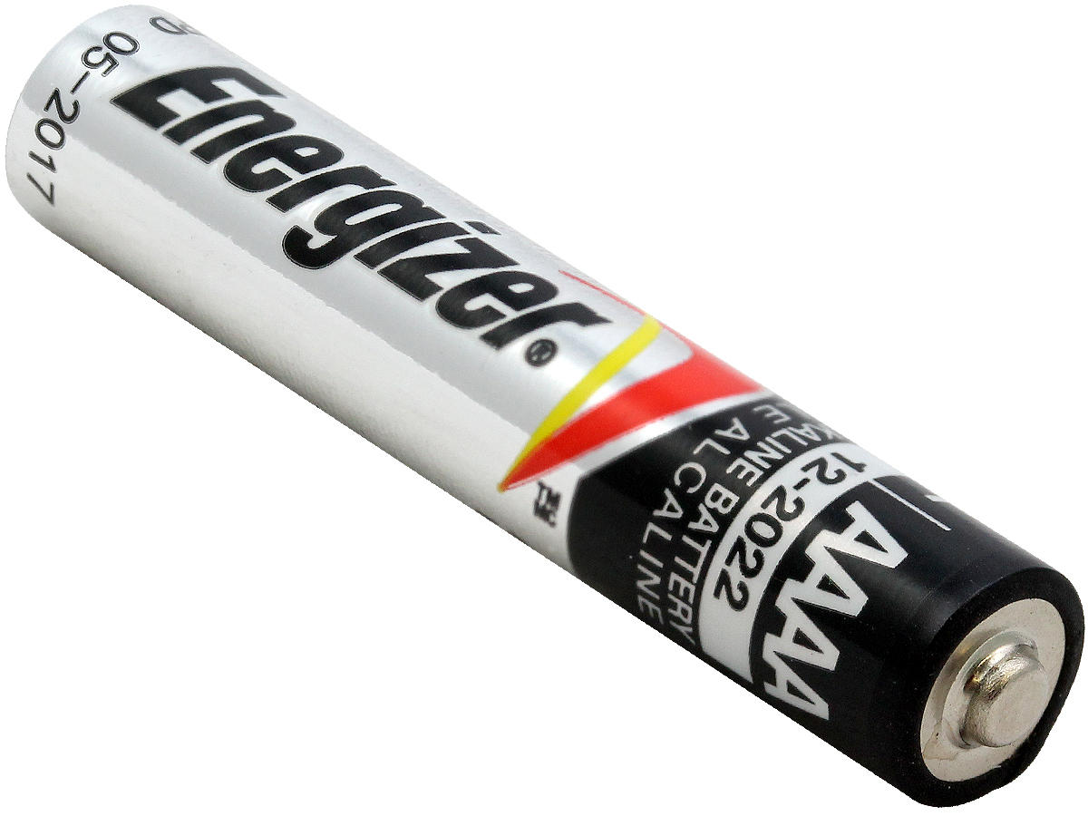 Angle Shot of the Energizer E96 AAAA Battery