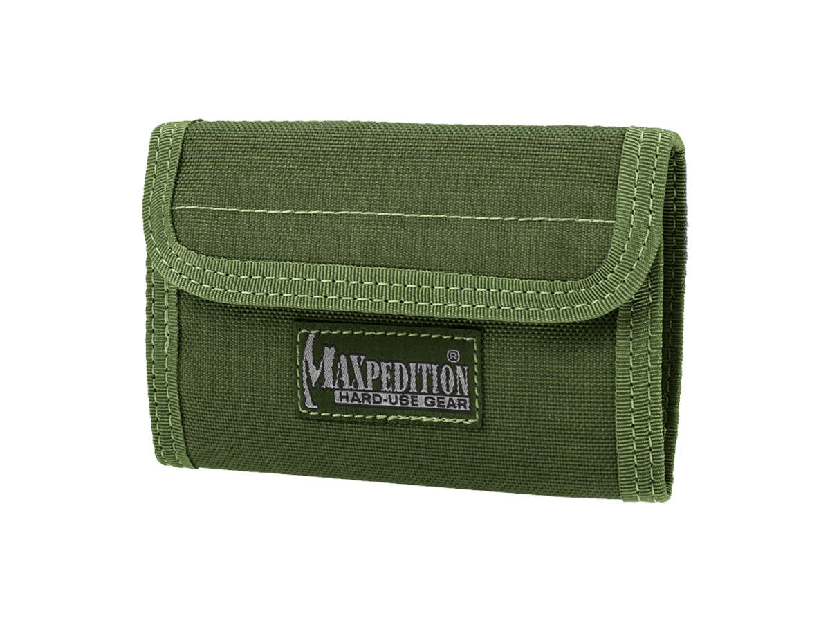 Green Version of the Maxpedition Spartan Wallet