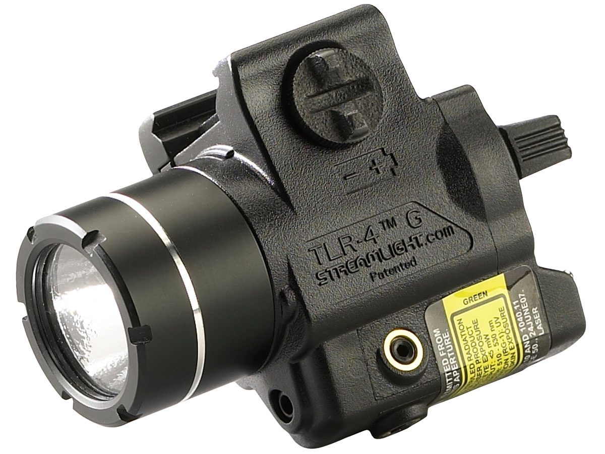 Angle Shot of the Streamlight TLR-4 G