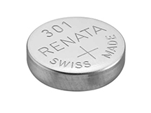 Renata 301 MP 130mAh 1.55V Silver Oxide Coin Cell Battery - 1 Piece Tear Strip, Sold Individually