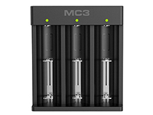 Xtar MC3 Three Bay Li-ion USB Battery Charger