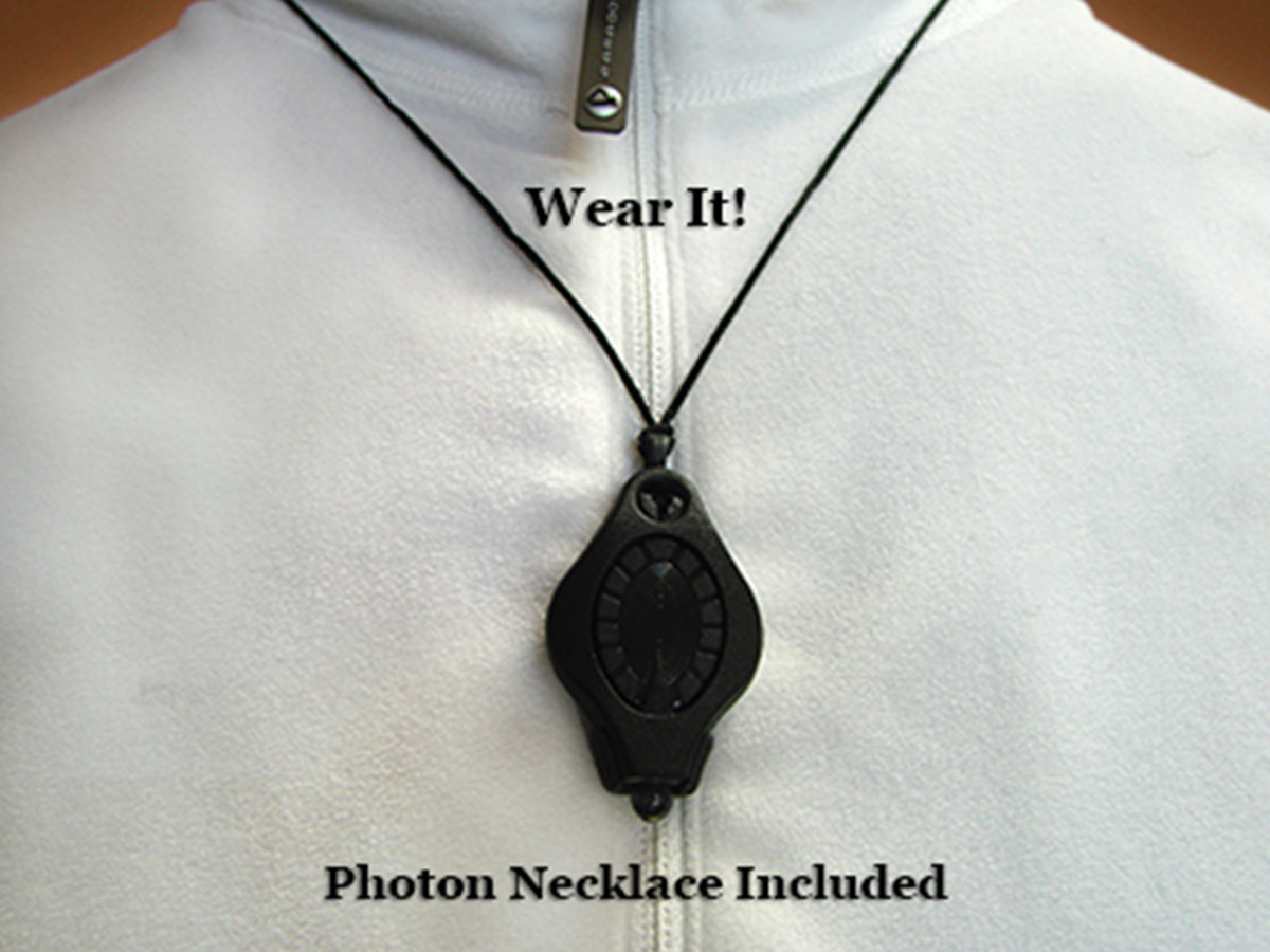 LRI Photon II PRO Key Light w/ Covert Nose included photon necklace lanyard