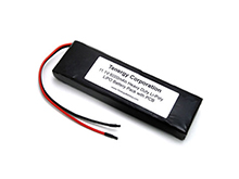 Tenergy 6000mAh 11.1V Protected Lithium Polymer (Li-Poly) Bare Leads Battery - Bulk (31206)