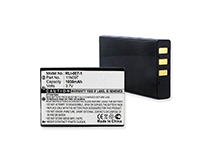 Empire 3.7V Replacement Lithium-Ion (Li-Ion) Battery Pack for MX810 / MX980 Universal Remote Controls (RLI-007-1)