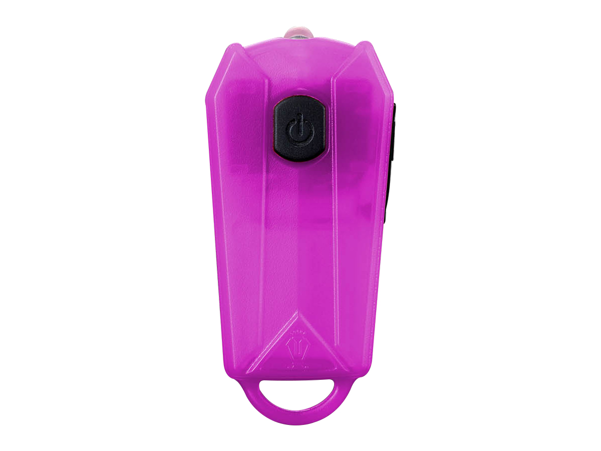 JETBeam E0 keylight in pink front view