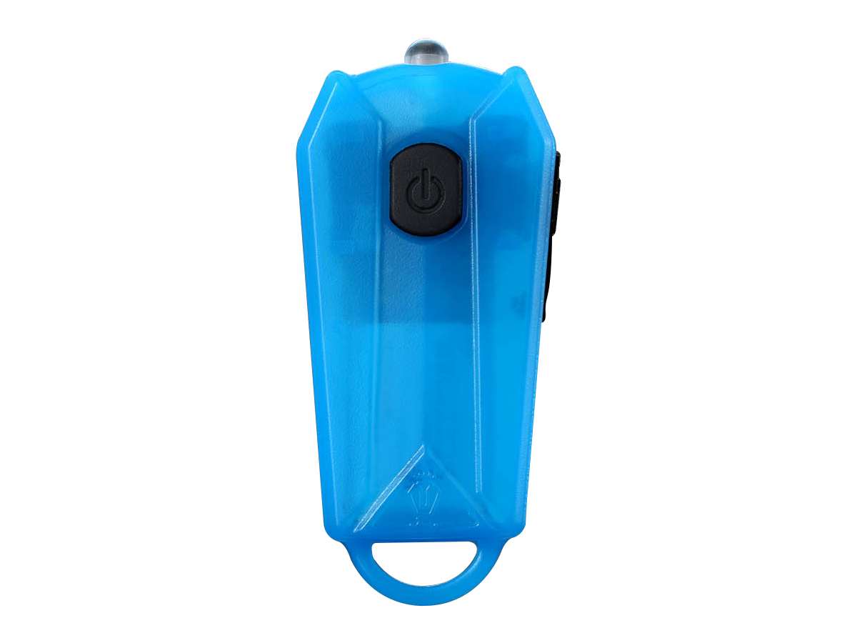 JETBeam E0 keylight in blue front view