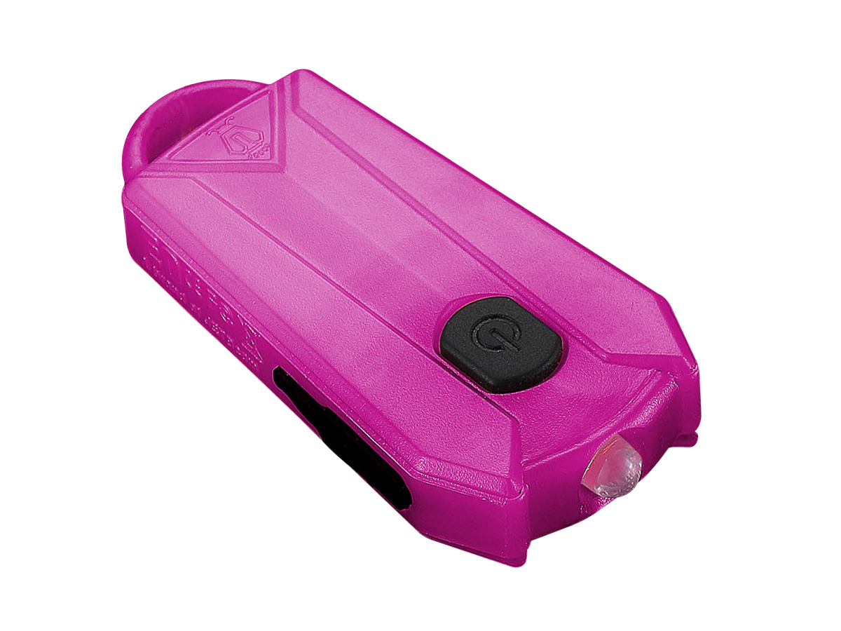 JETBeam E0 keylight in pink right side angle