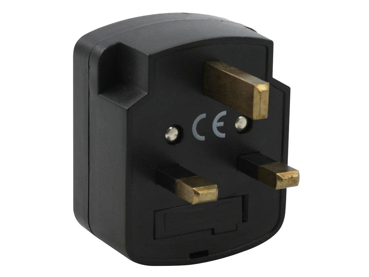 Plug of the UK Plug Adapter Grounded Type G SS405