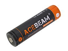 Acebeam IMR 18650 3100mAh 3.6V Protected High-Drain 20A Lithium Ion (Li-ion) Button Top Battery