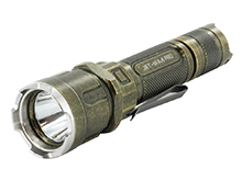 JETBeam Jet IIIM (3M) Pro Tactical Flashlight - CREE XP-L LED - 1100 Lumens - Uses 2 x CR123As or 1 x 18650 - Retro-Style Finish