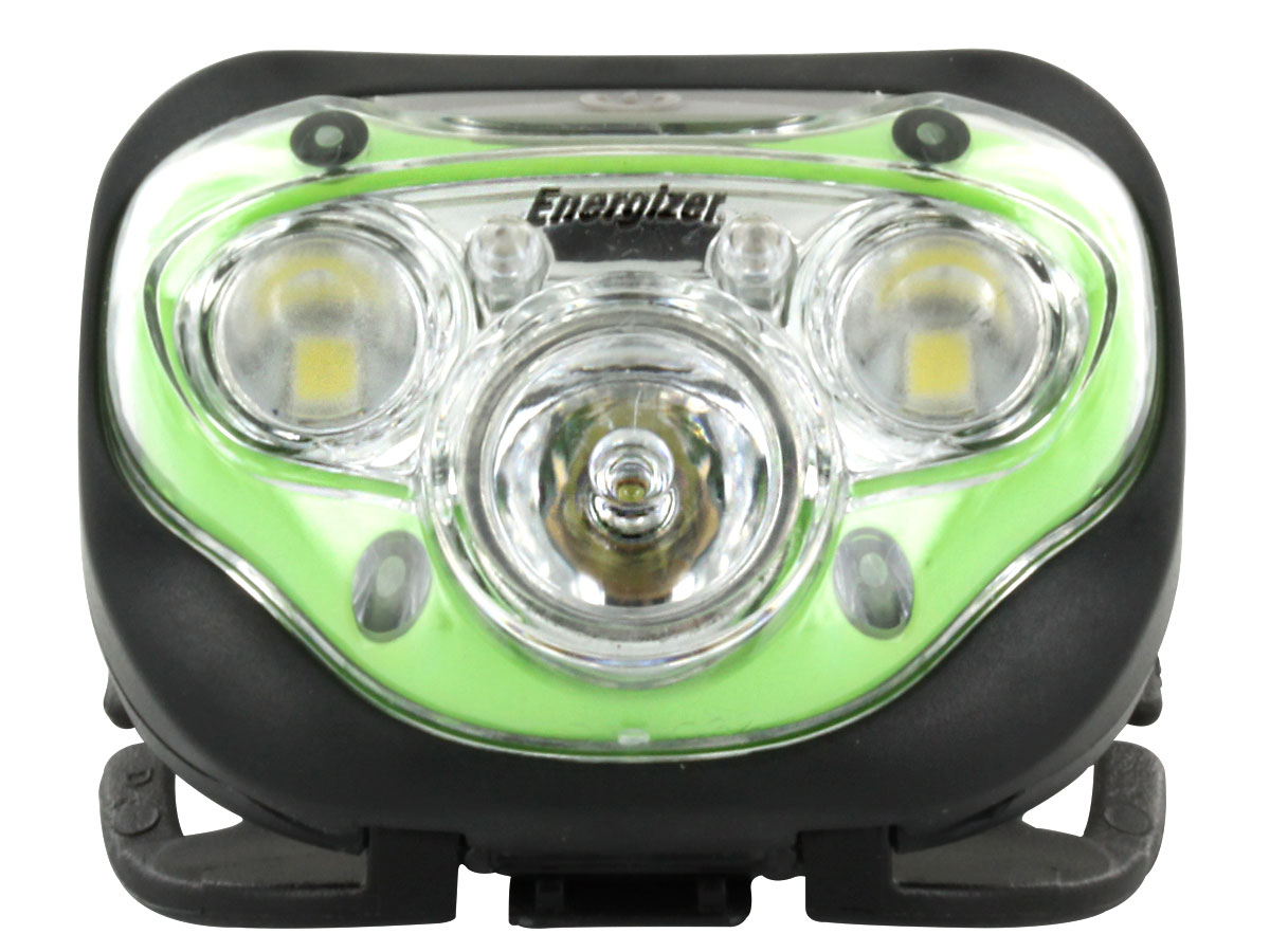 Energizer Vision HD+ Headlamp front view without headband