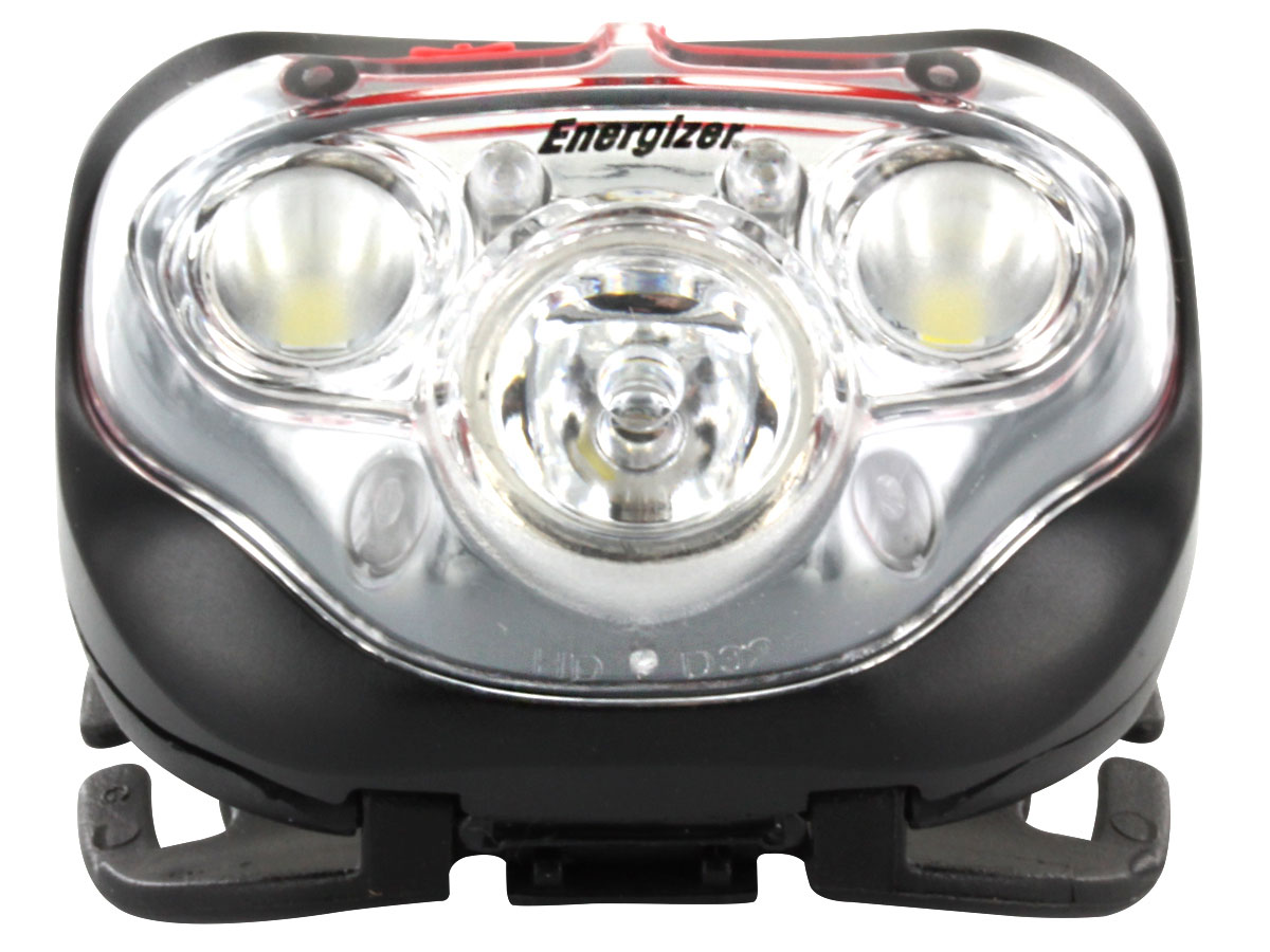 Energizer Vision HD+ Focus Headlamp front view - just lamp