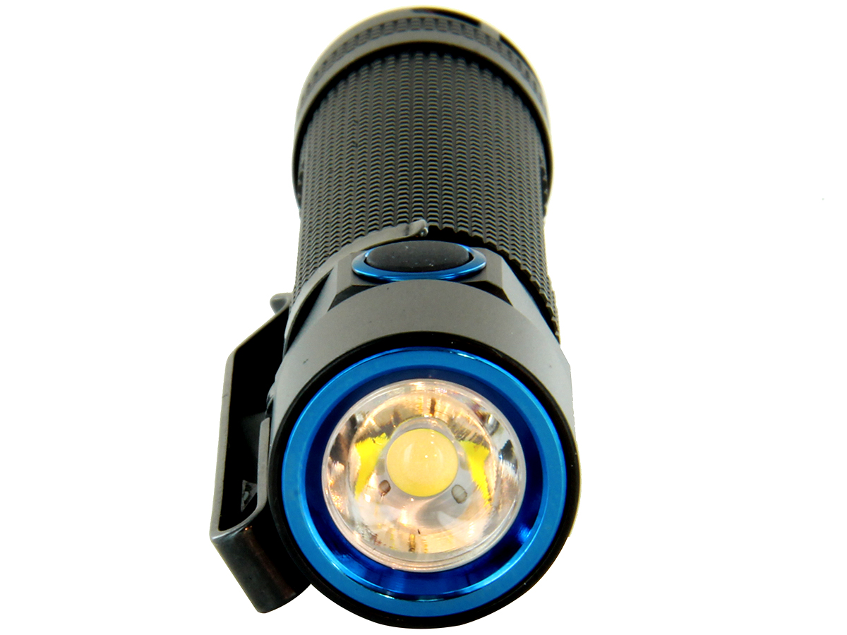 Close-up of LED in Olight S2R