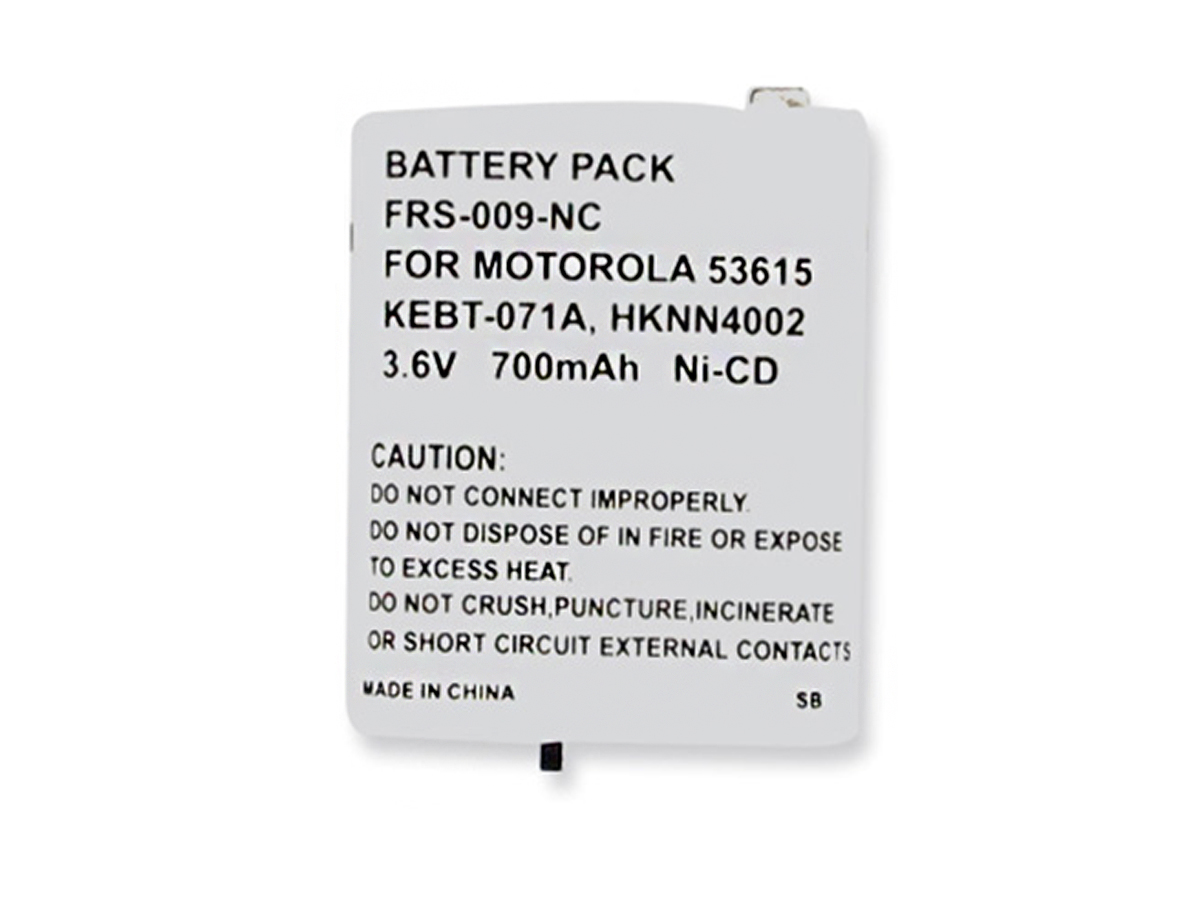 Front view of Empire FRS-009-NC battery pack