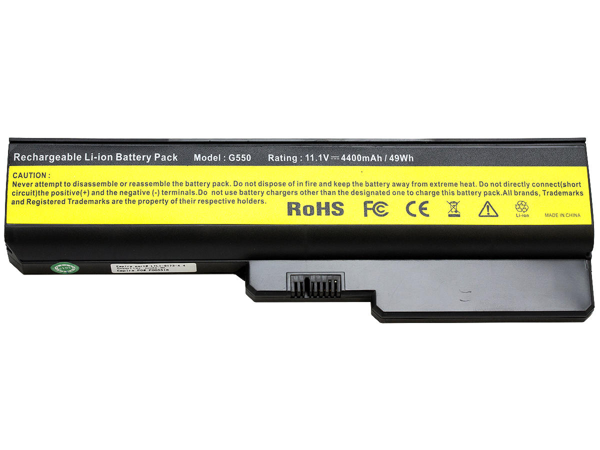 Top Shot of the Empire LTLI-9173-44 LI-Ion Laptop Battery