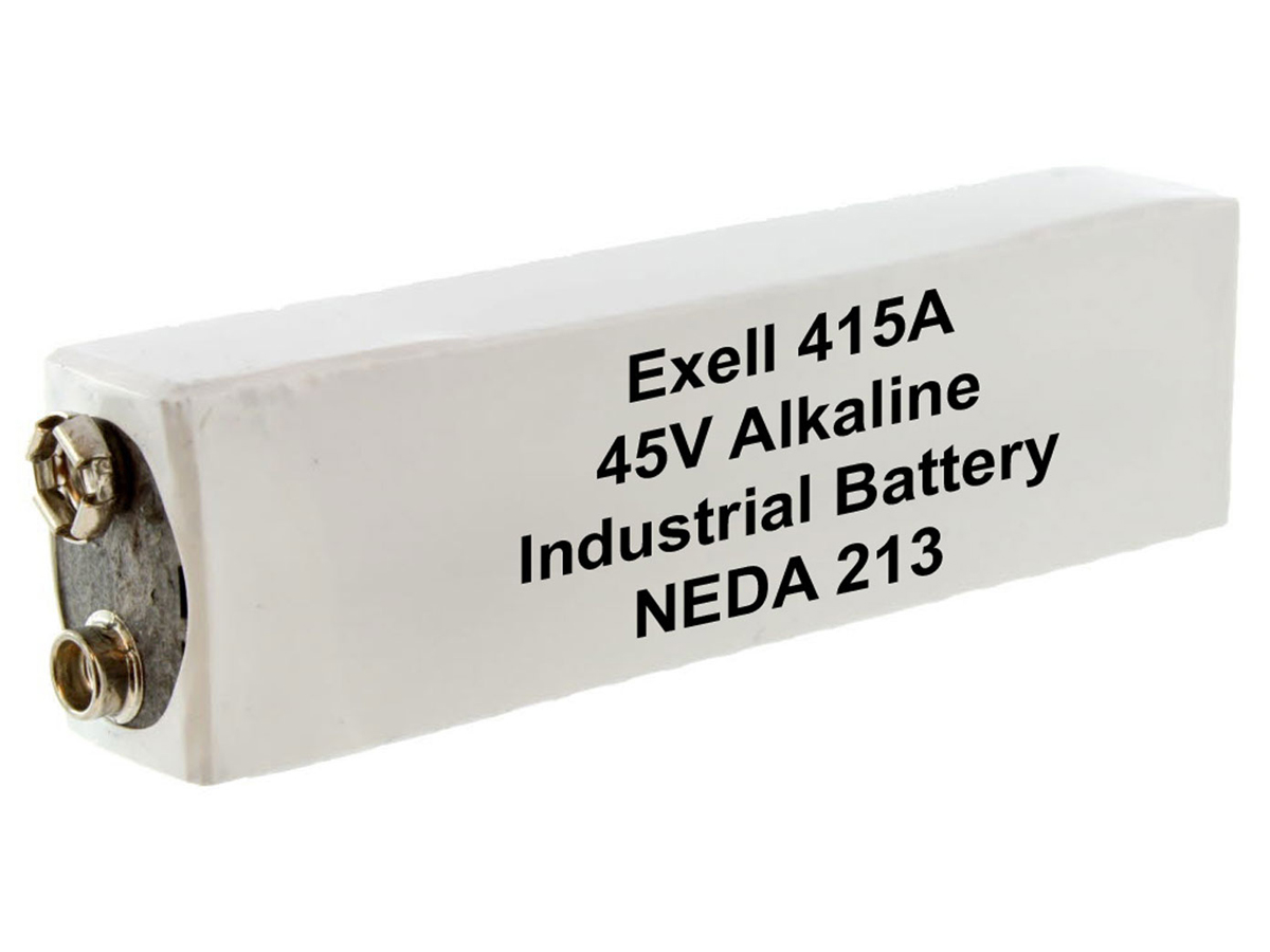 Exell 415A 45V battery left side angle