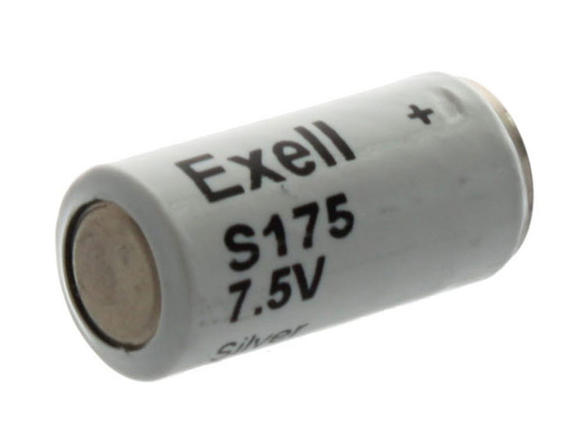 Exell S175 battery left side angle