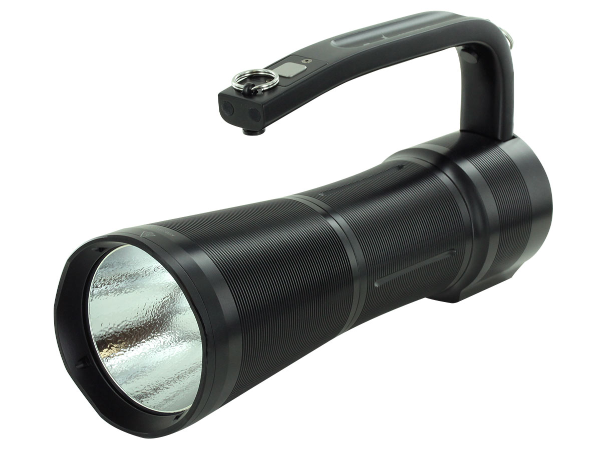 Fenix WT50R searchlight left side angle
