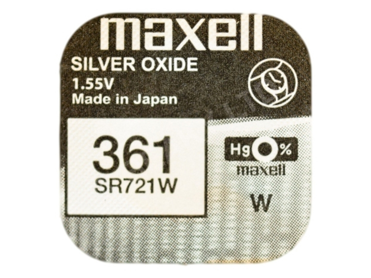 Maxell 361 SR721W Coin Cell Battery 1pc