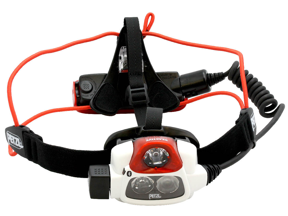 Shot of the Petzl NAO + Rechargeable Multi-Beam LED Headlamp Alone