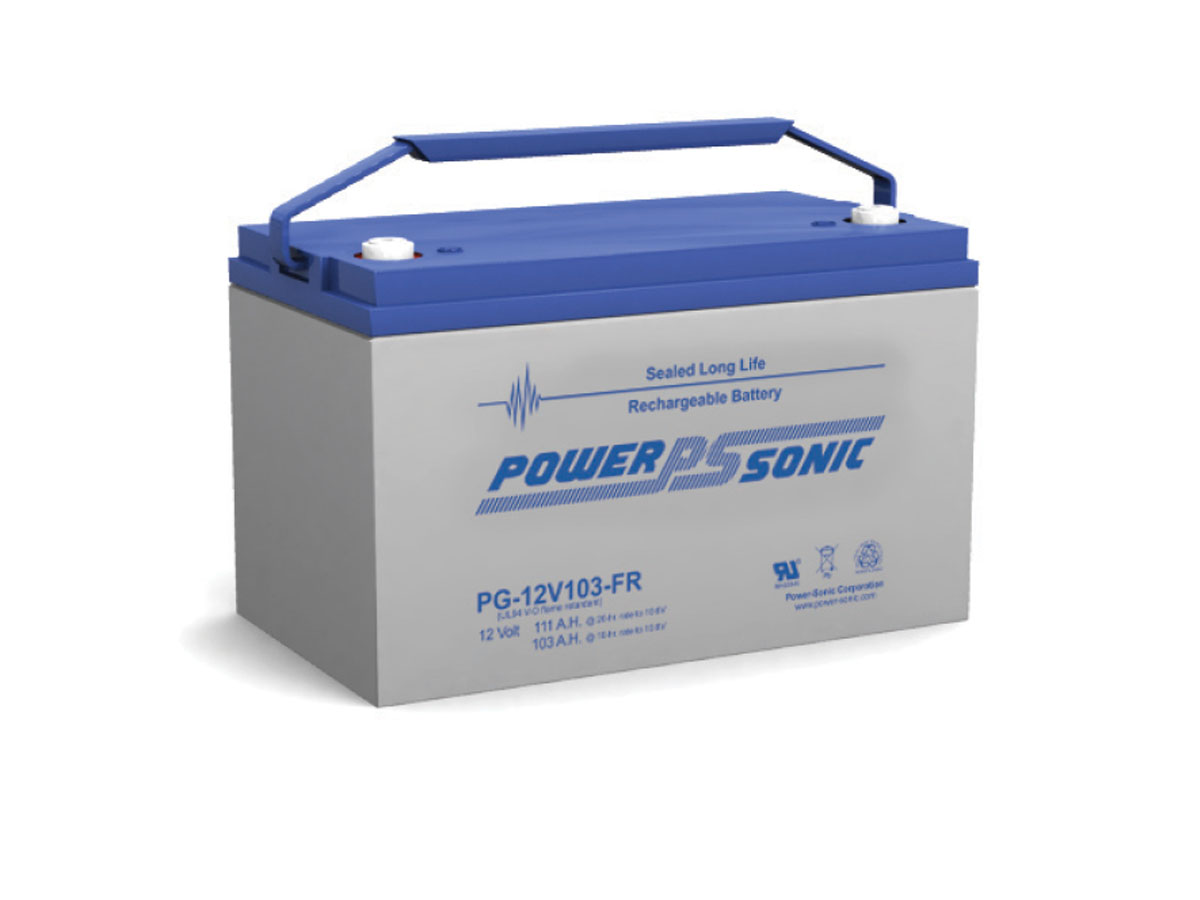 Front view of PowerSonic PG-12V103-FR