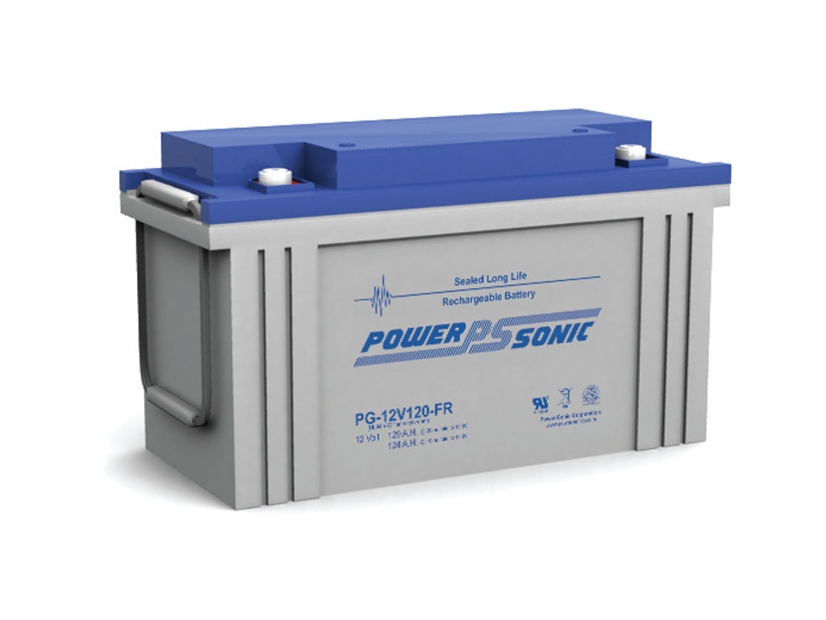 Front view of PowerSonic PG-12V120