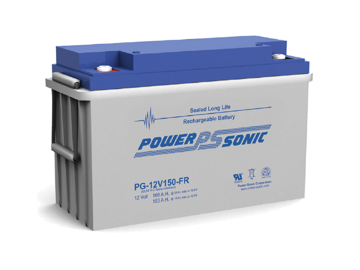 Front view of PowerSonic PG-12V150-FR