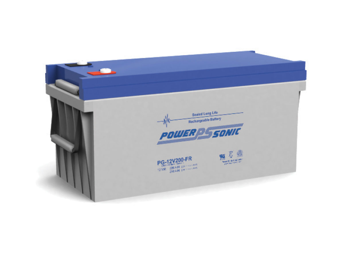 Front view of PowerSonic PG-12V200