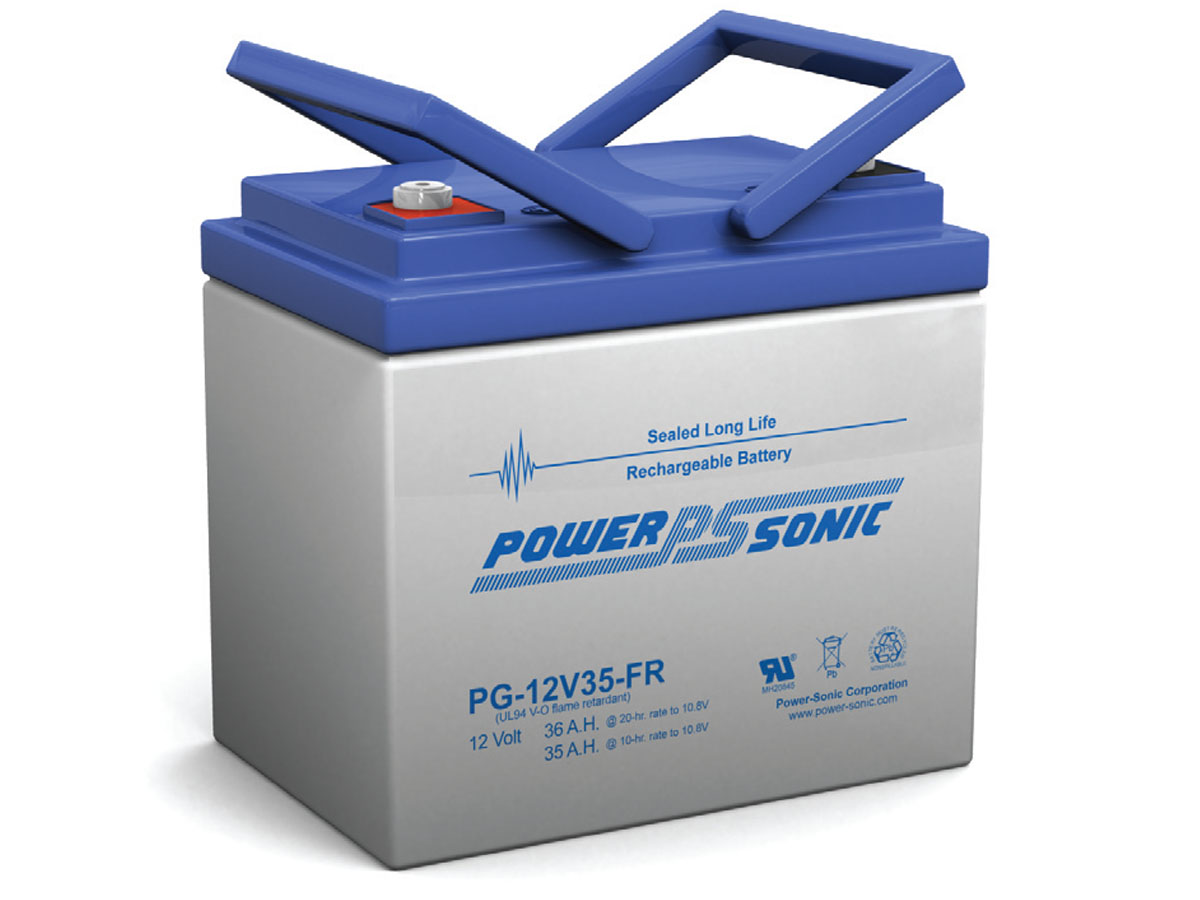 Front view of PowerSonic PG-12V35