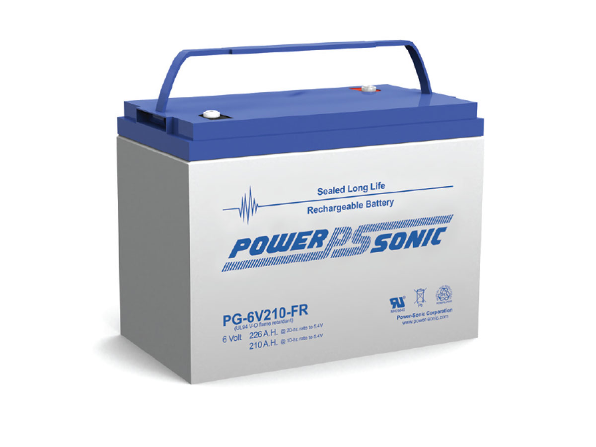 Front view of PowerSonic PG-6V210-FR