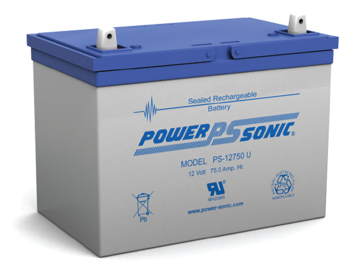 Front view of PowerSonic PS-12750