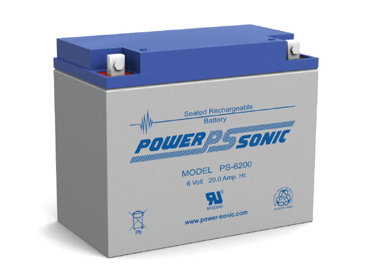 Front view of PowerSonic PS-6200