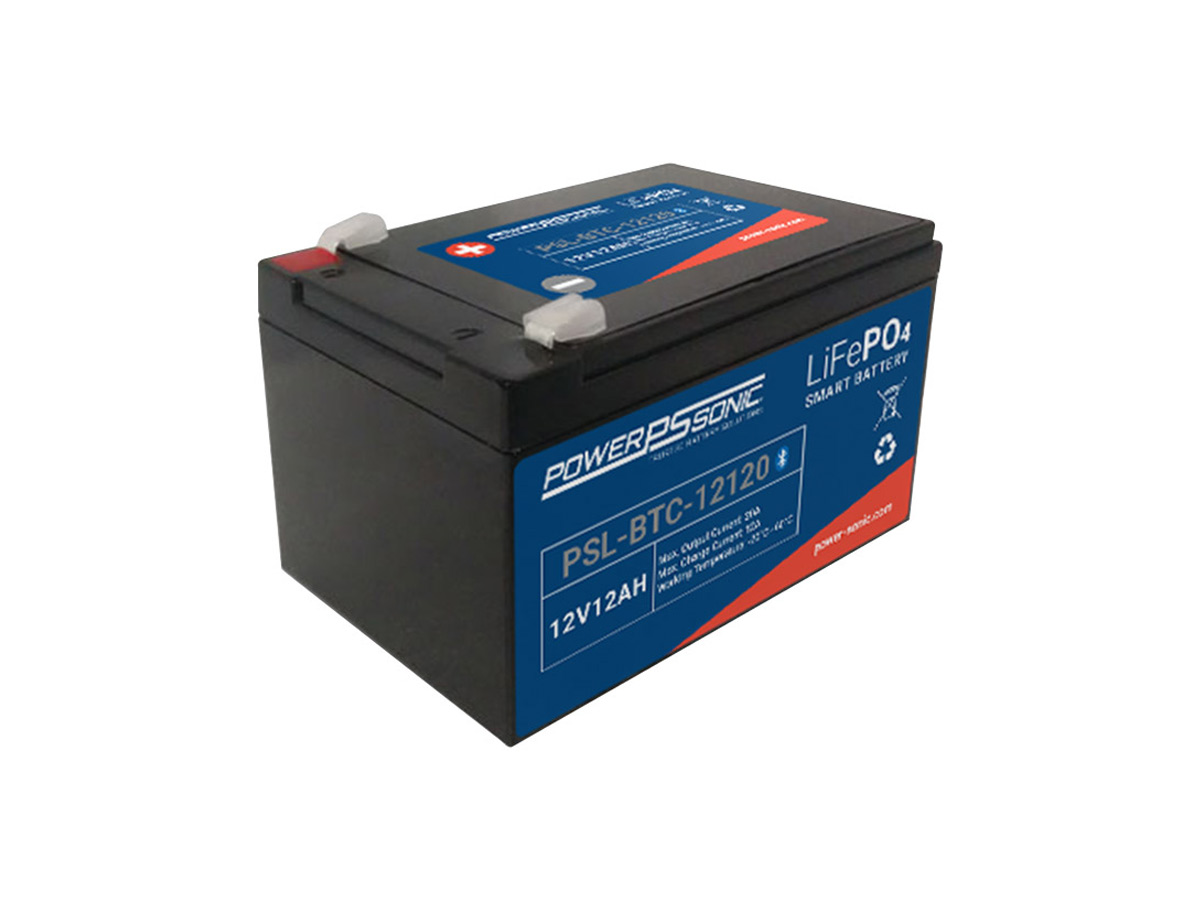 powersonic psl btc 12120 lifepo4 battery solo