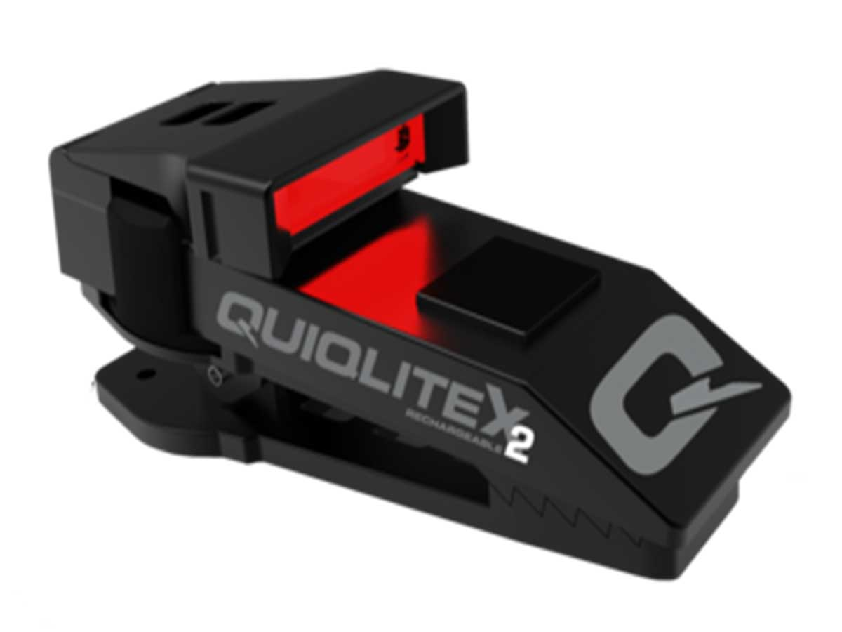 quiqlite qx2 on with red led