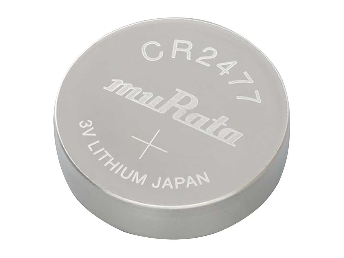 Murata CR2477 Coin Cell Watch Battery