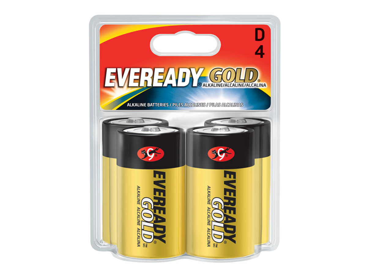 Energizer Eveready A95 batteries in 4 piece retail card