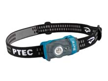 Princeton Tec Byte Headlamp - Maxbright and Red LED - 100 Lumens - Uses 2 x AAA (Included) - Blue