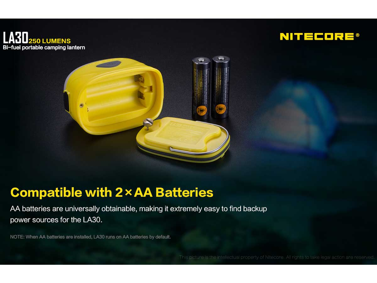Secondary information on batteries