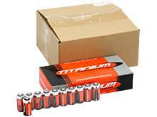 Titanium Innovations CR123A (800PK) 1400mAh 3V 3A Lithium Primary (LiMNO2) Button Top Photo Batteries - Box of 800