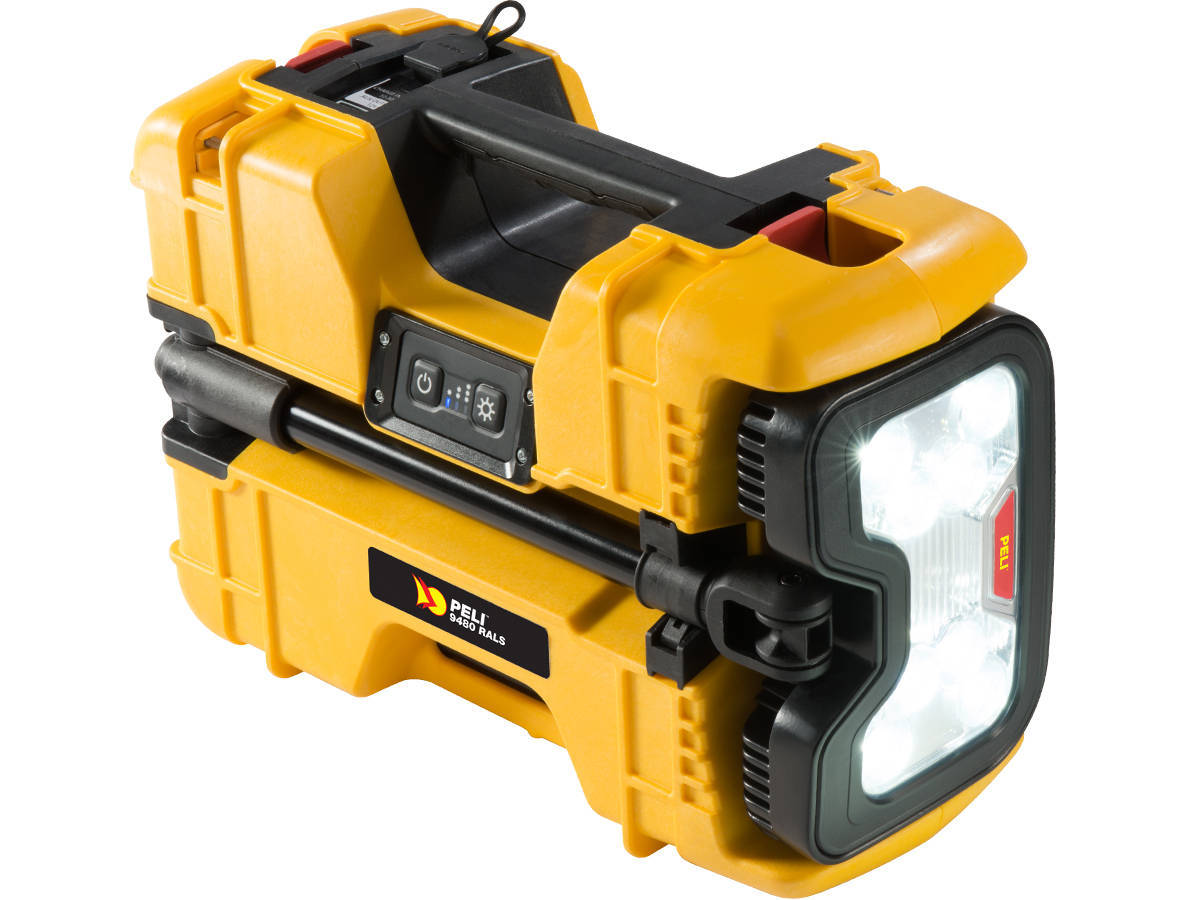 Yellow Version of the Pelican 9480 Area Light