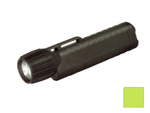 Underwater Kinetics UK4AA eLED CPO-AT Flashlight with Tail Switch - 120 Lumens - Class I Div 1 - Uses 4 x AAs - Safety Yellow